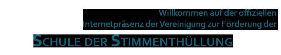 Willkommen auf der Internetpräsenz des Vereins zur Förderung der Stimmenthüllung